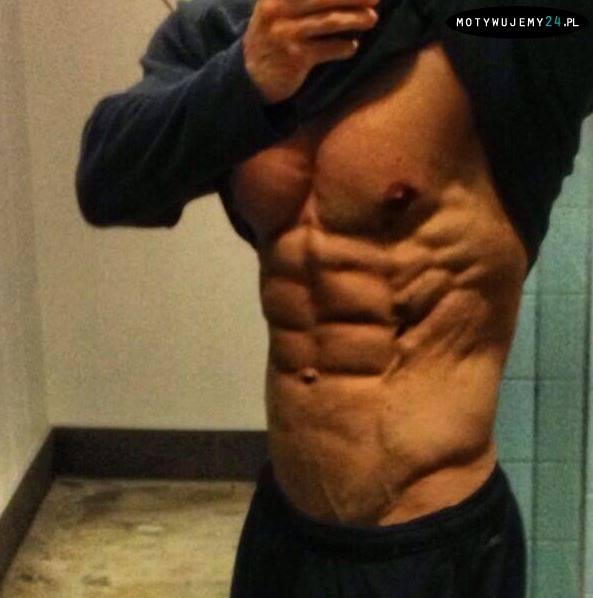 Efekty ciężkiej pracy nad własnym ciałem