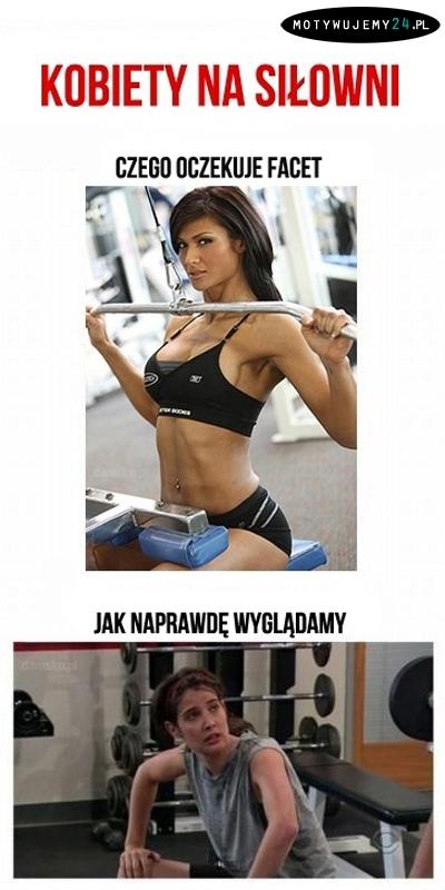 Kobiety na siłowni..