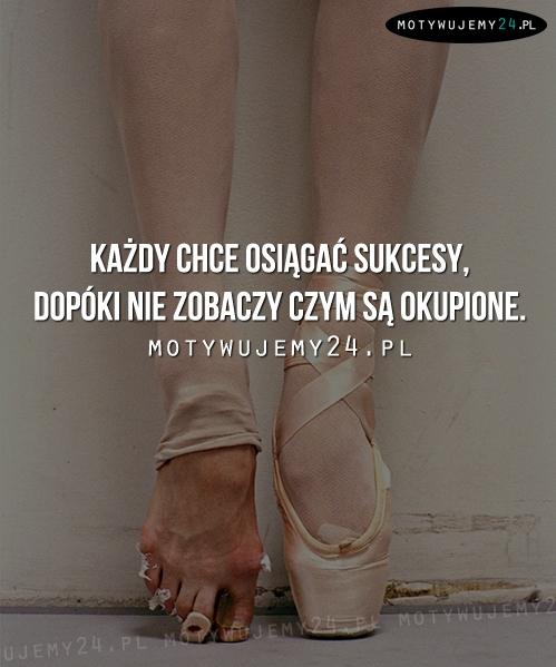 Każdy chce osiągać sukcesy...