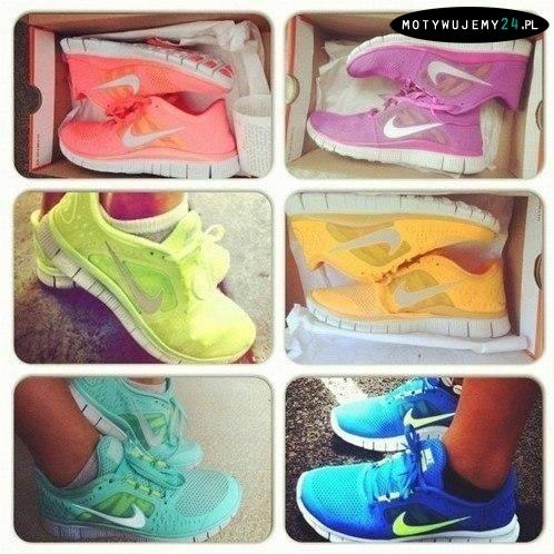 mix damskich butów do biegania