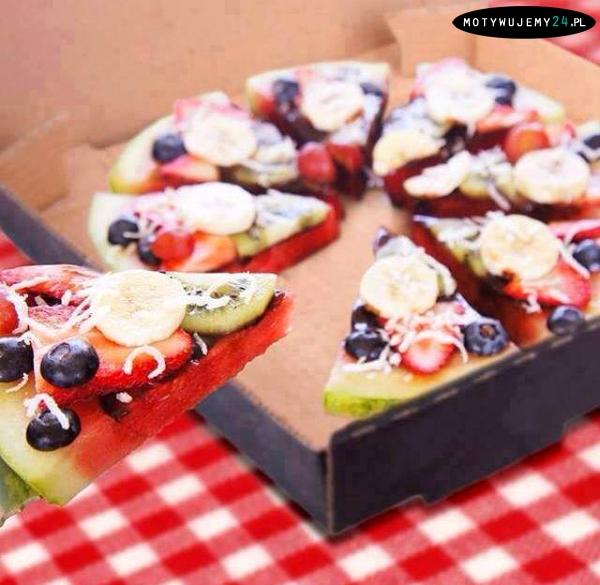 Pomysł na zdrową pizze!