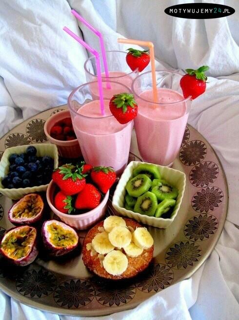 Owocowe drugie śniadanie