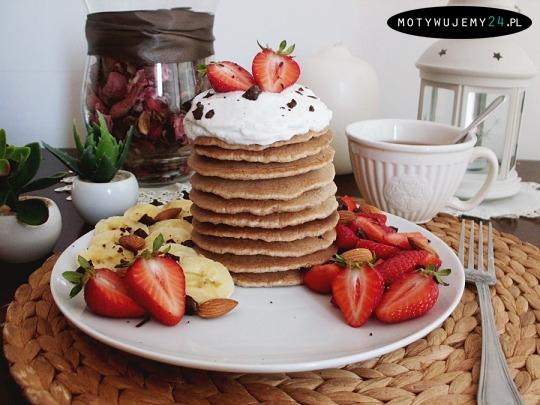 Owsiane pancakes'y