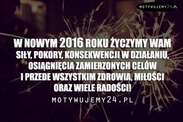 Szczęśliwego Nowego Roku życzy zespół M24
