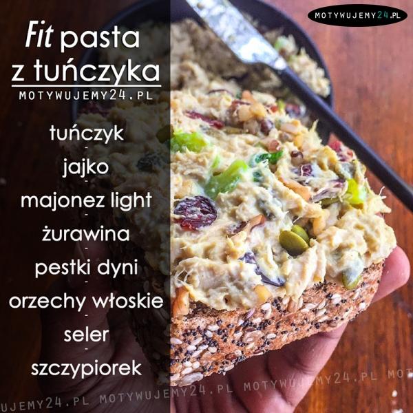 Fit pasta z tuńczyka