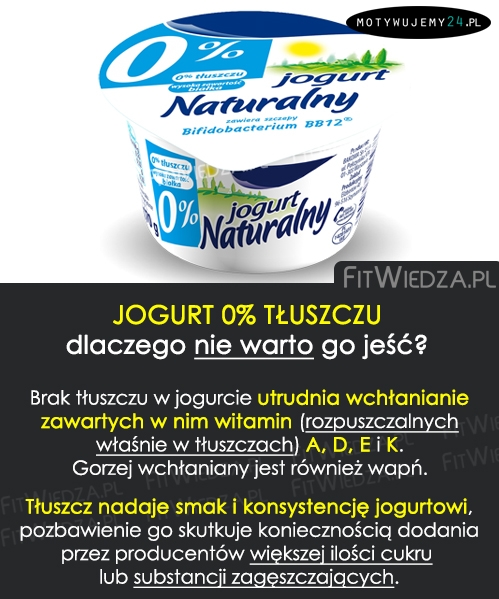 Dlaczego nie warto jeść jogurtów