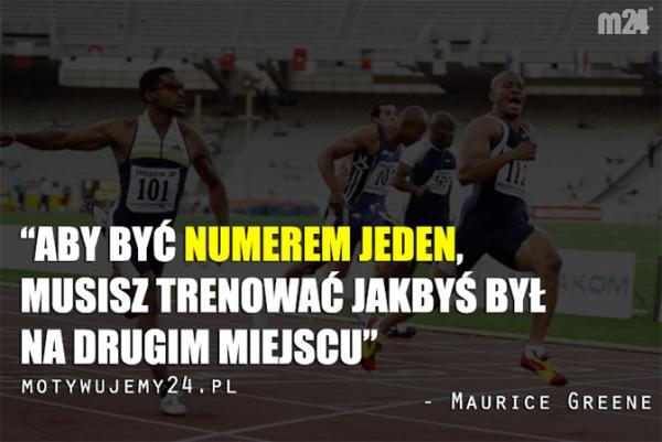 Aby być numerem jeden, musisz...