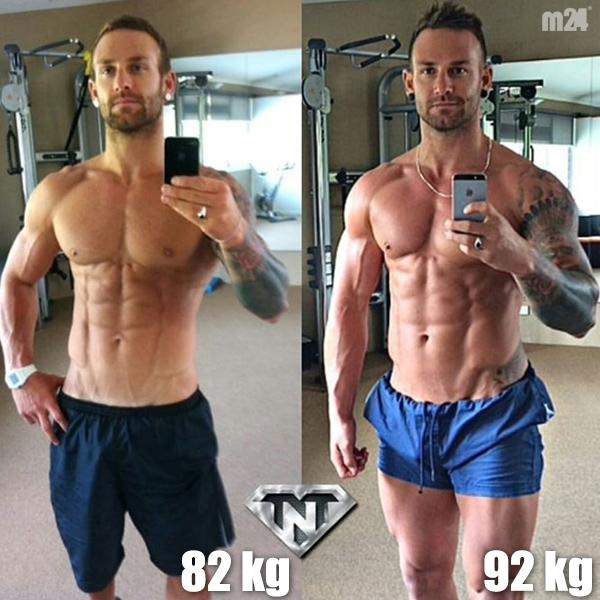 82kg vs 92kg