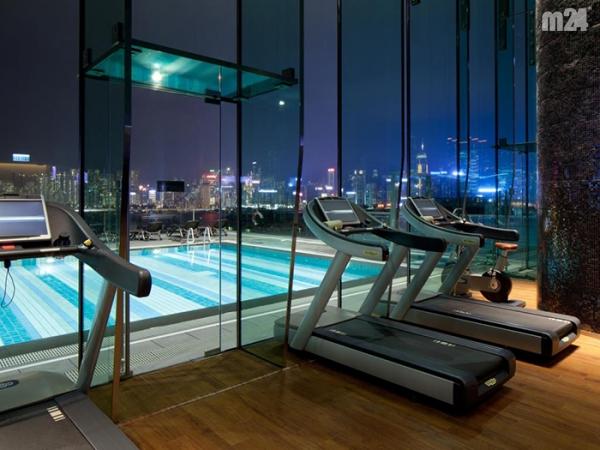 Hotel Icon w Hong Kongu - co powiecie na taki trening?