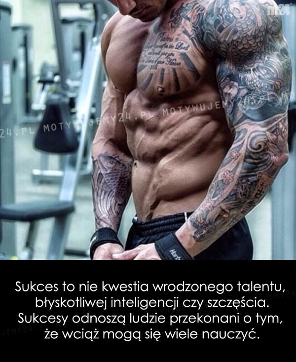 Sukcesy odnoszą ludzie...