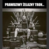 Prawdziwy żelazny tron...