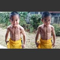 6cio letni Ryuji Imai, którego idolem jest Bruce Lee (IG:@ryusei416)